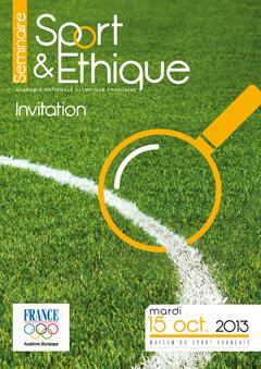Séminaire Mécénat & Sponsoring sport et ethique - we sport you