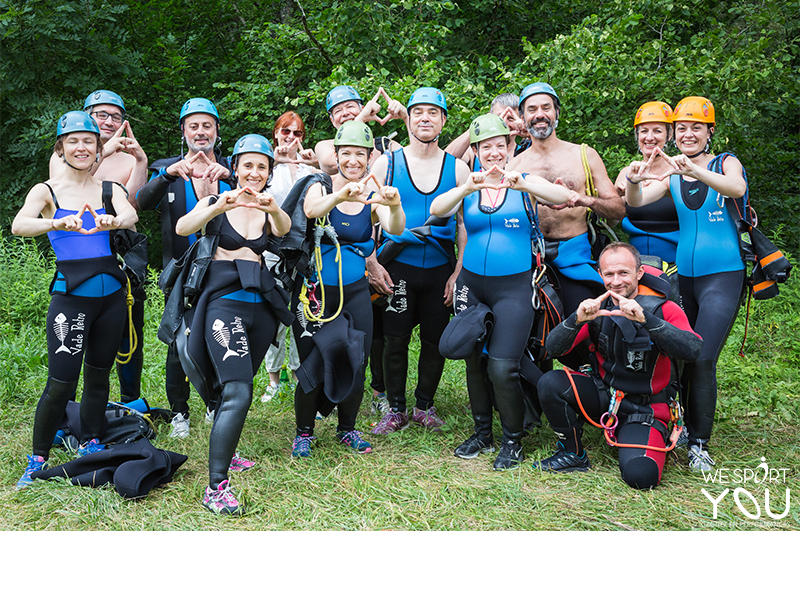 Séminaire pro + Canyoning - we sport you