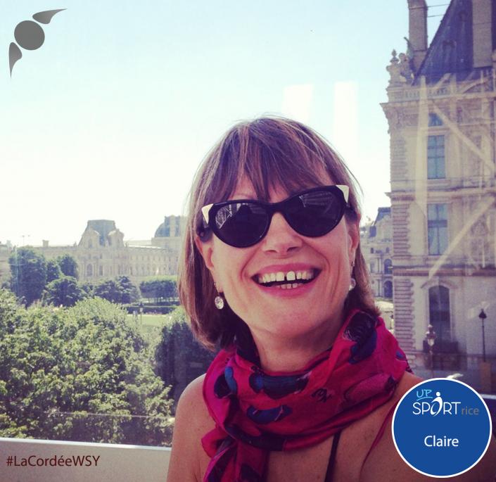 Claire LaCordeeWSY Rencontre Sport et Entreprises We Sport You