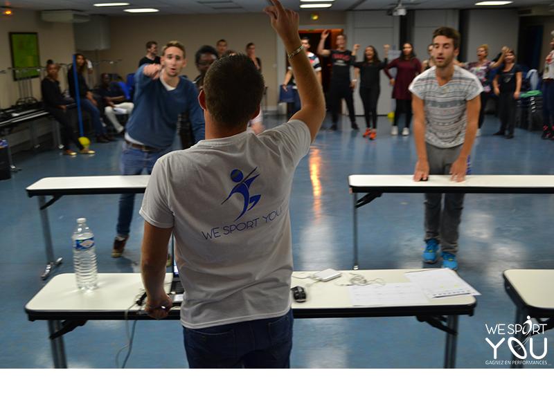 Seminaire d'intégration - Ecole RH - we sport you