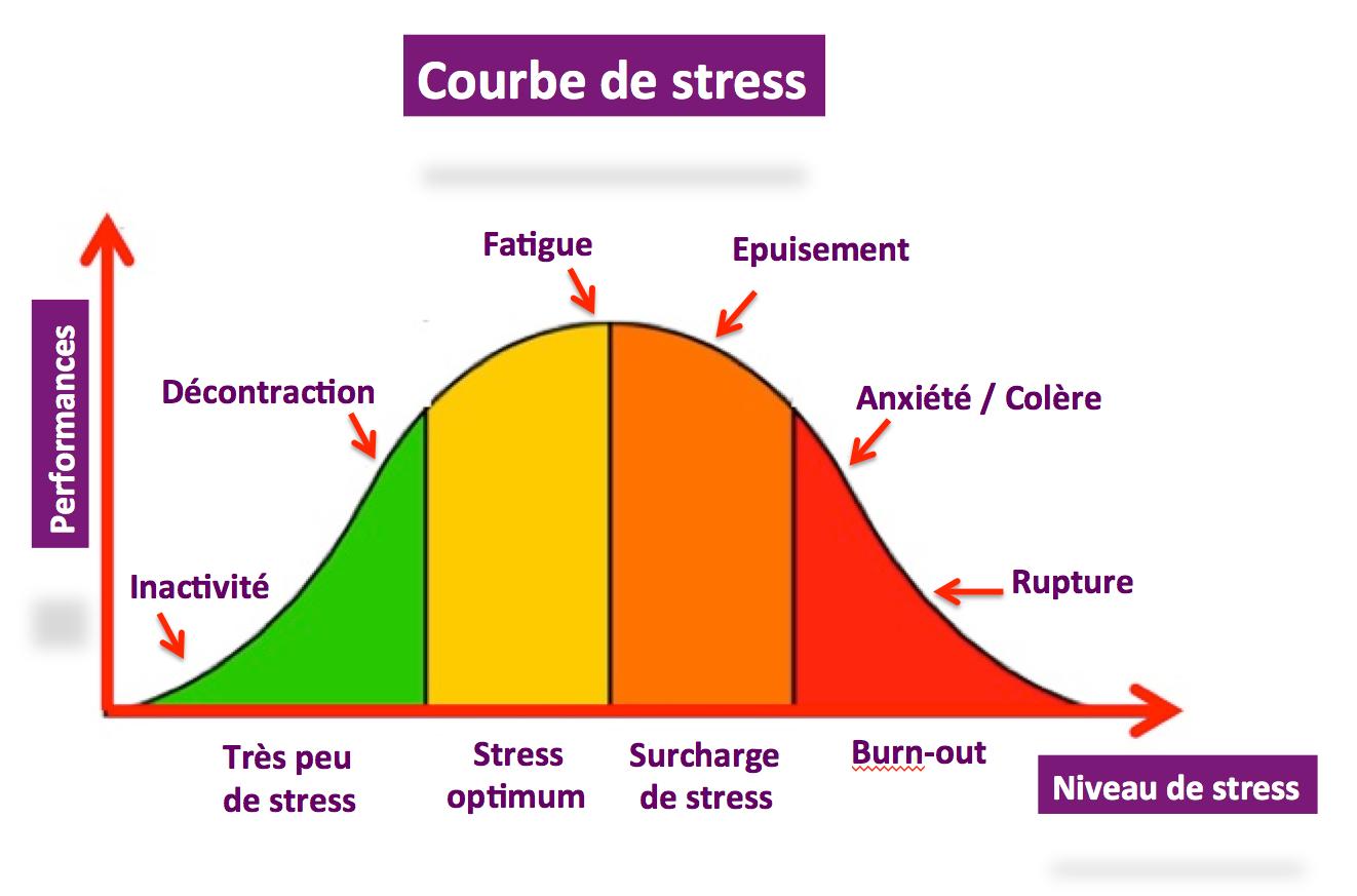 courbe de stress
